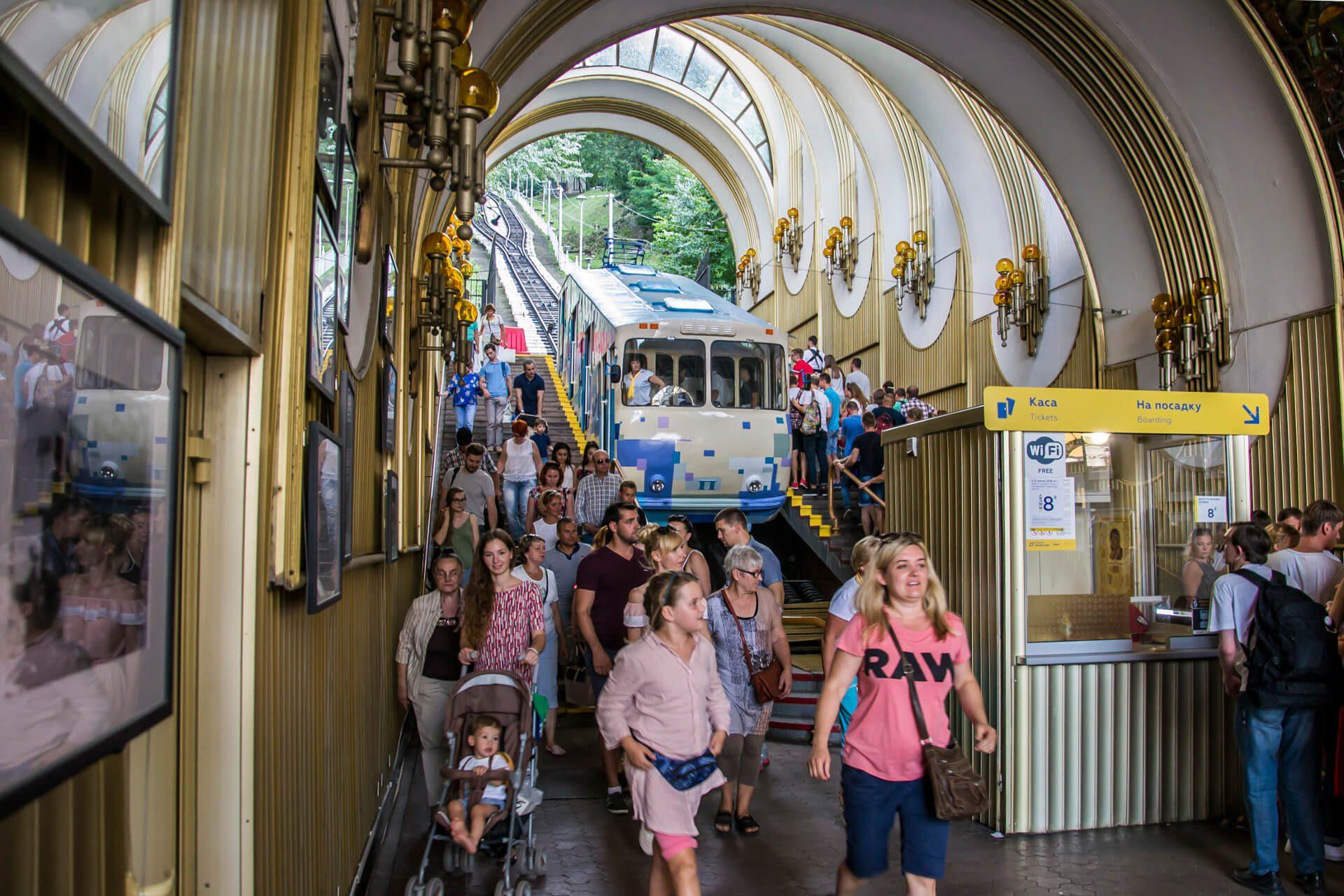Funikulat w Kijowie