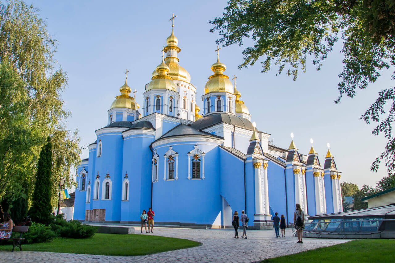 Monaster św. Michała Archanioła o Złotych Kopułach