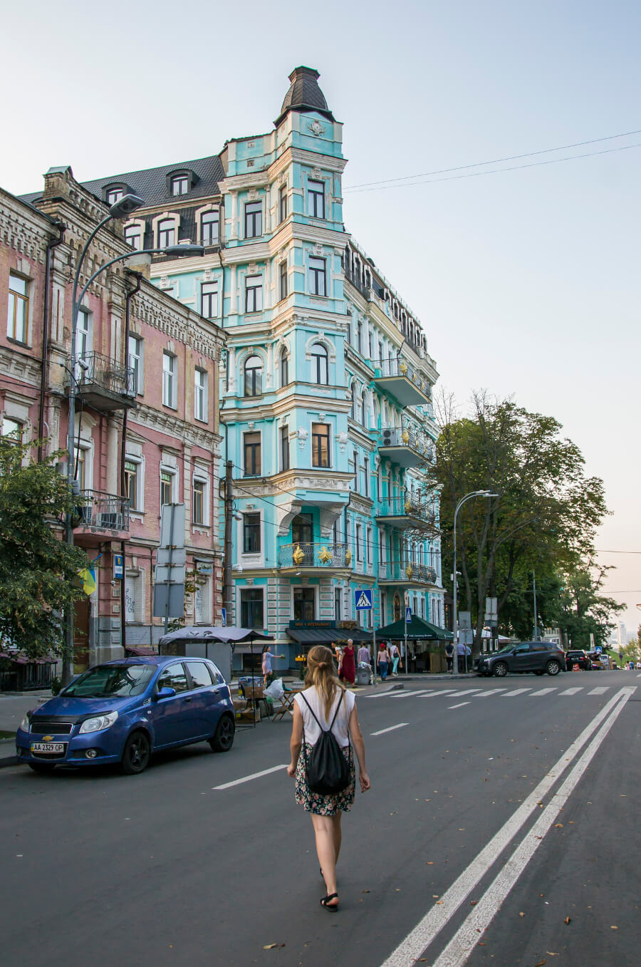 Zwiedzanie Kijowa - Kamienice Kijowa