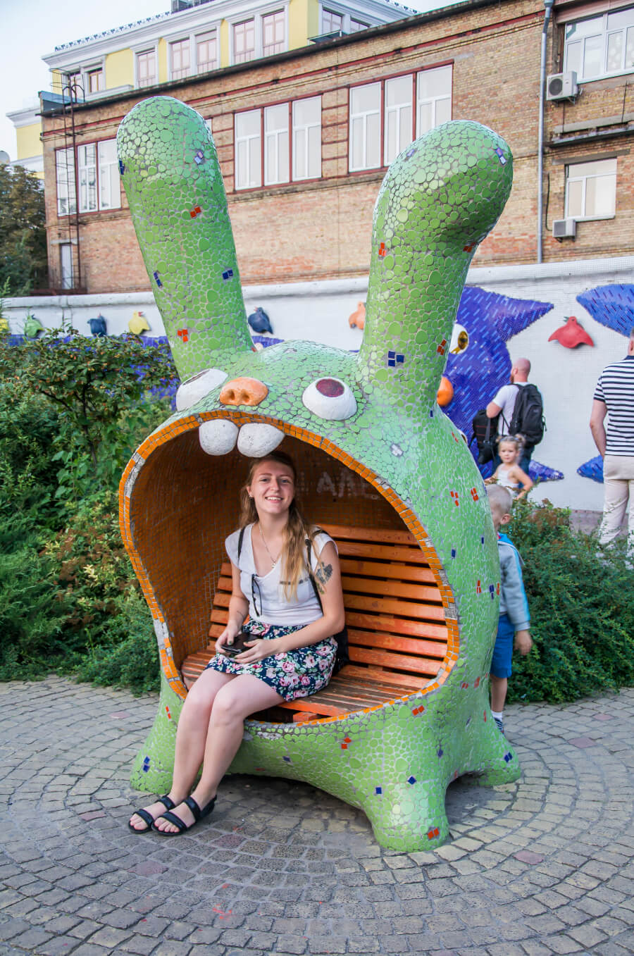 Zwiedzanie Kijowa - Aleja Pejzażowa w Kijowie