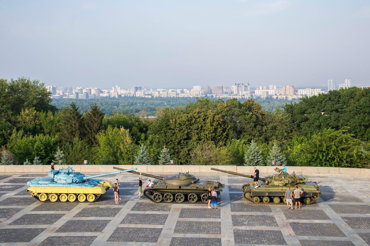 Pomnik Matka Ojczyzna i Muzeum w Kijowie