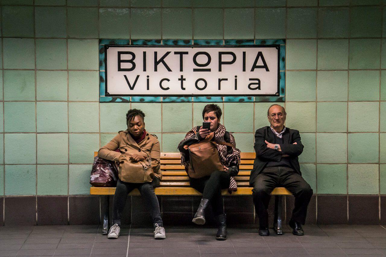 Stacja metra Victoria w Atenach