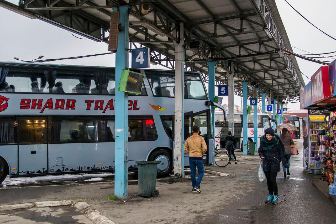 Dworzec autobusowy w Prizren