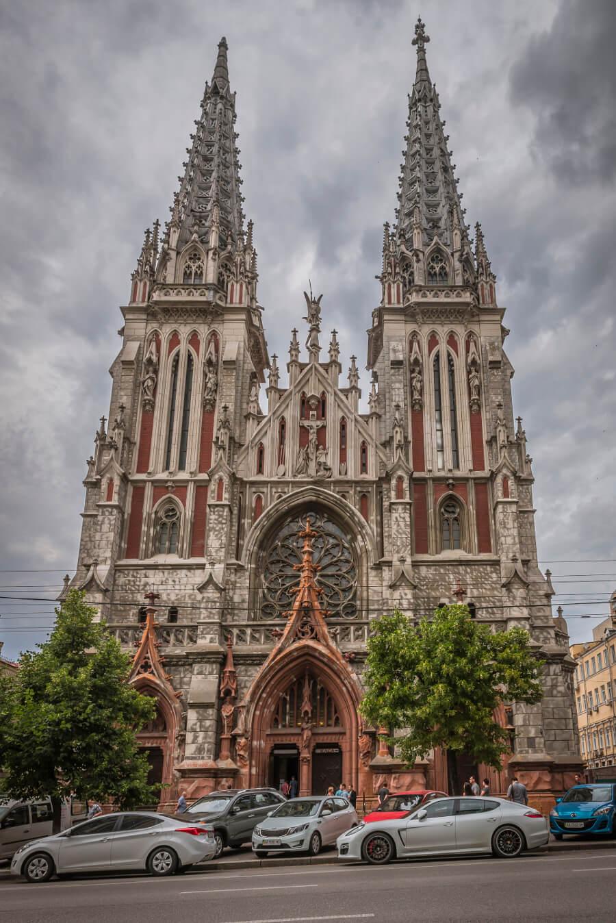 Zwiedzanie Kijowa - Kościół św. Mikołaja w Kijowie