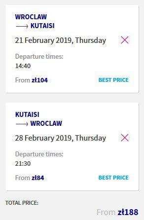 Rezerwacja na loty Wizz Air z bagażem podręcznym