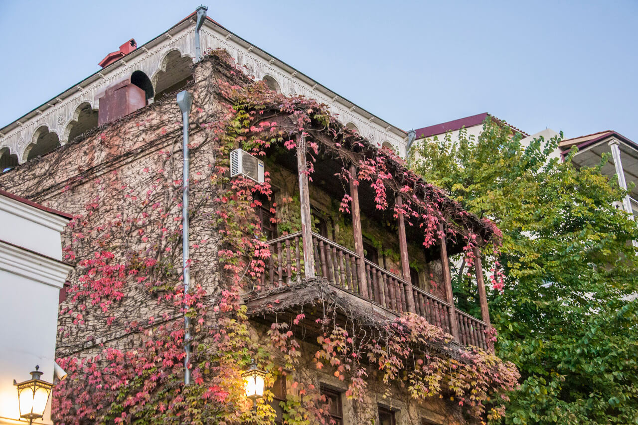 Uliczki Starego Miasta w Tbilisi