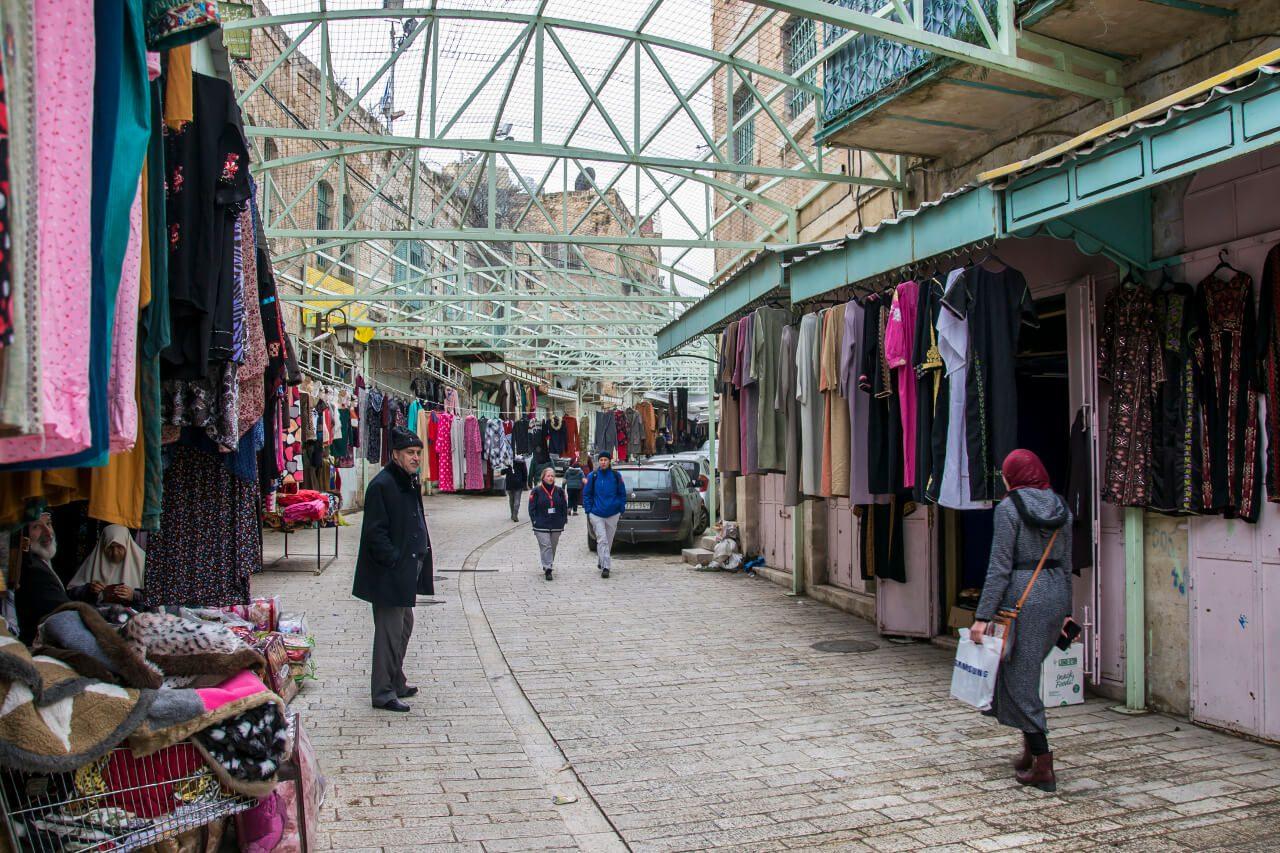 Targ w Hebronie.