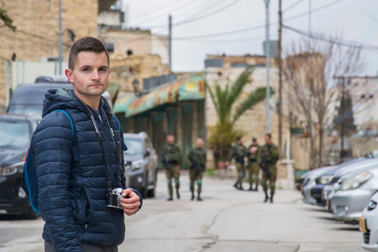 Hebron - Ulica Al-Shuhada.