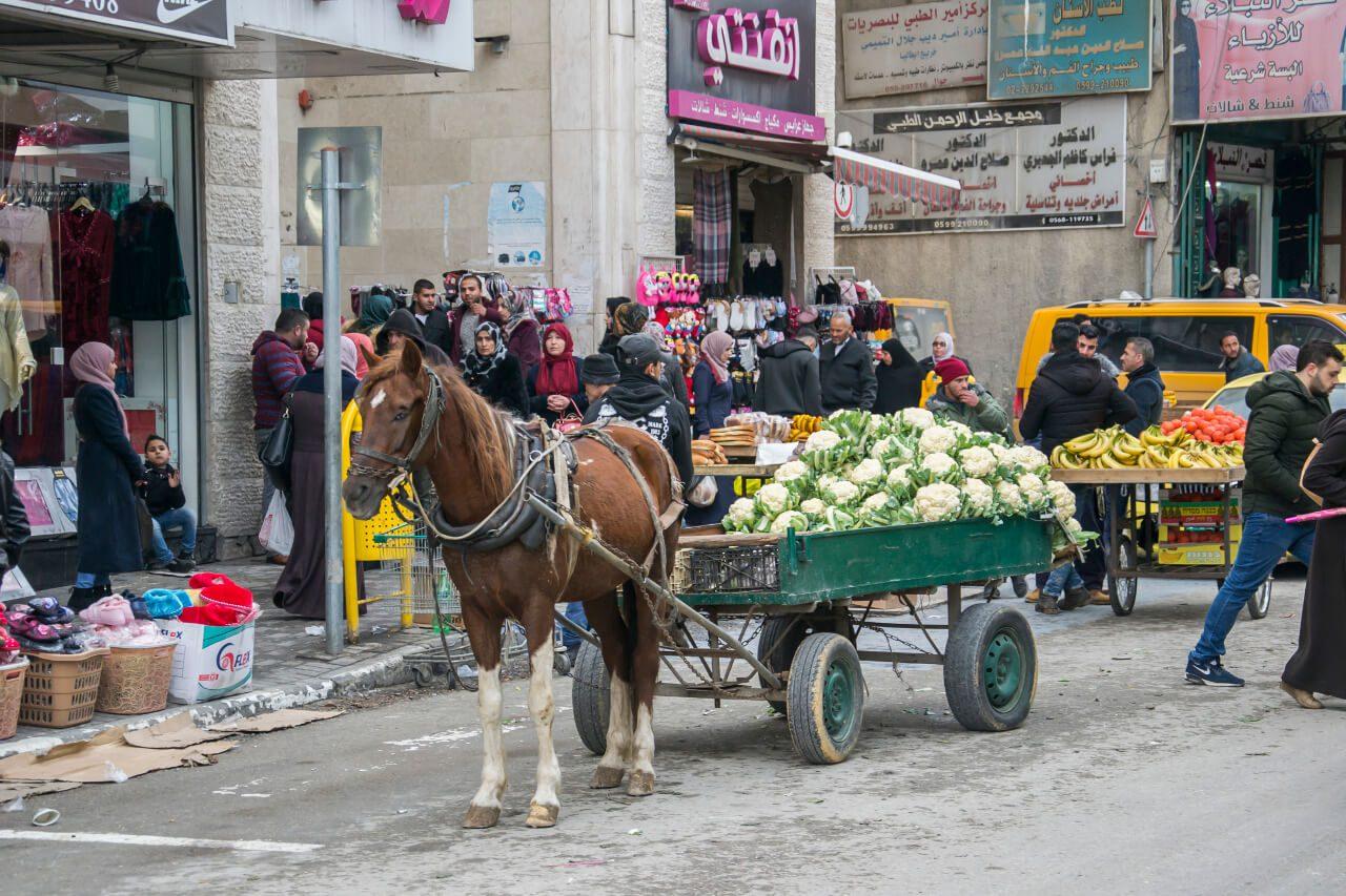 Palestyńska część Hebronu.