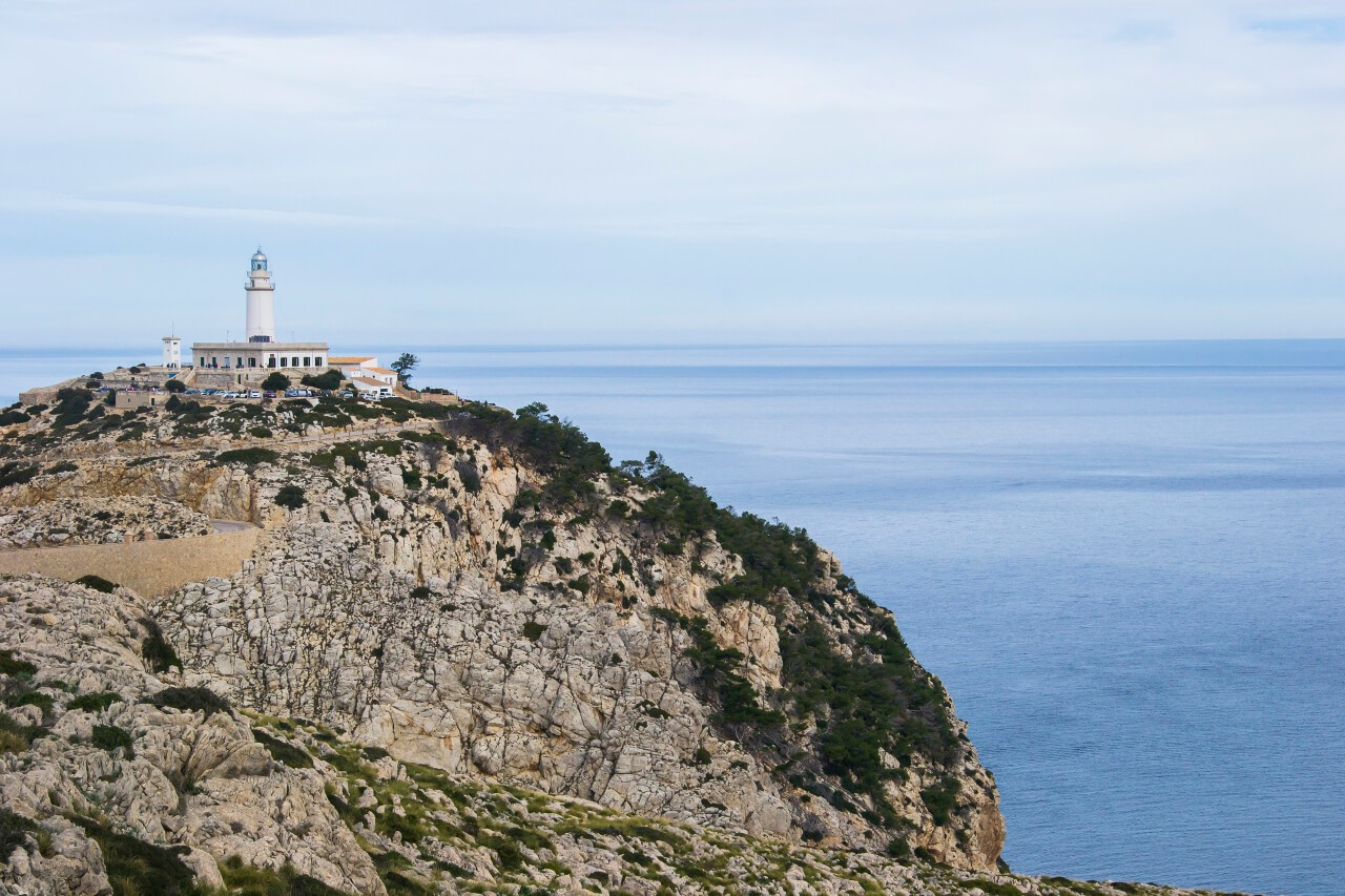 Latarnia morska Cap de Formentor na Majorce