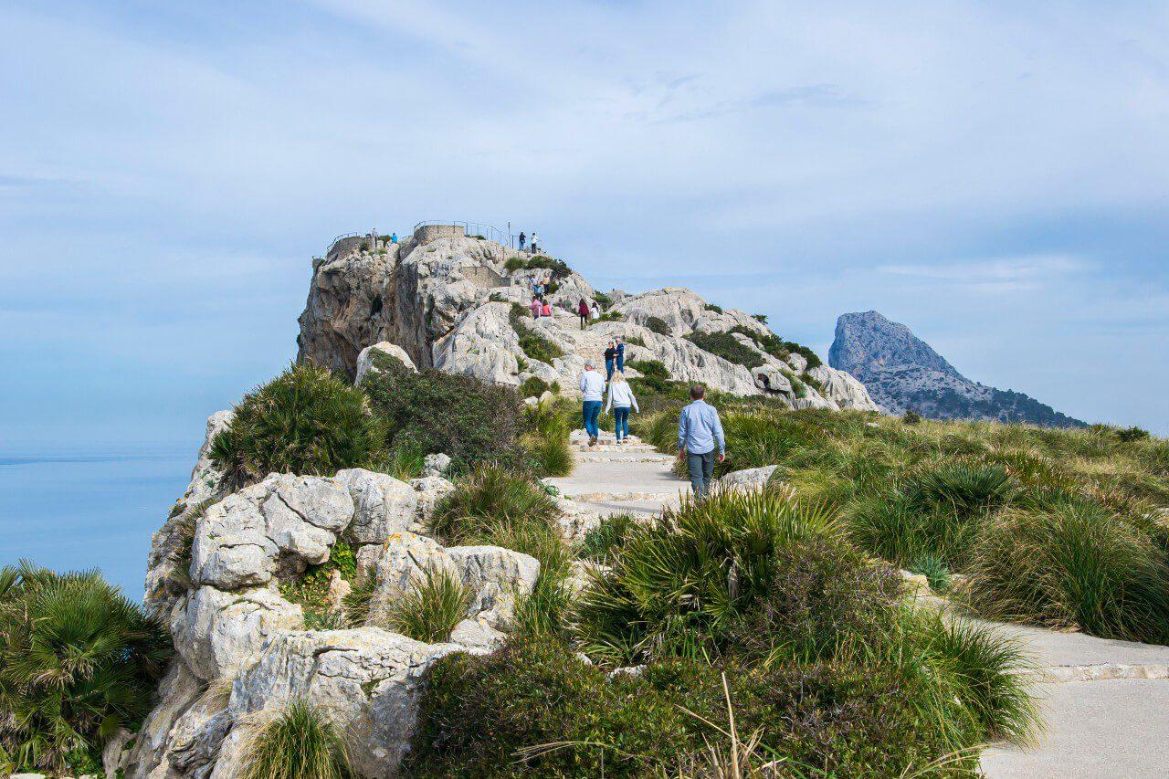 Punkt widokowy w drodze na Cap de Formentor