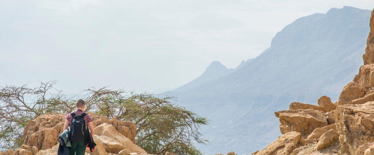 Park narodowy Ein Gedi – oaza nad Morzem Martwym