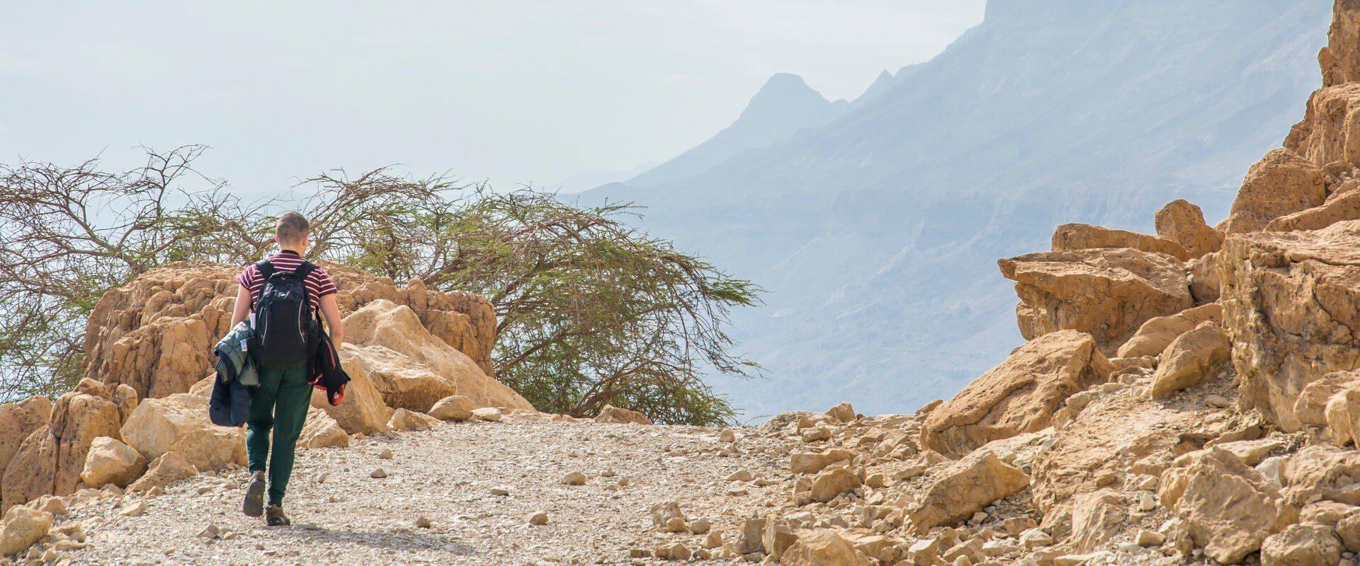 Park narodowy Ein Gedi - oaza nad Morzem Martwym