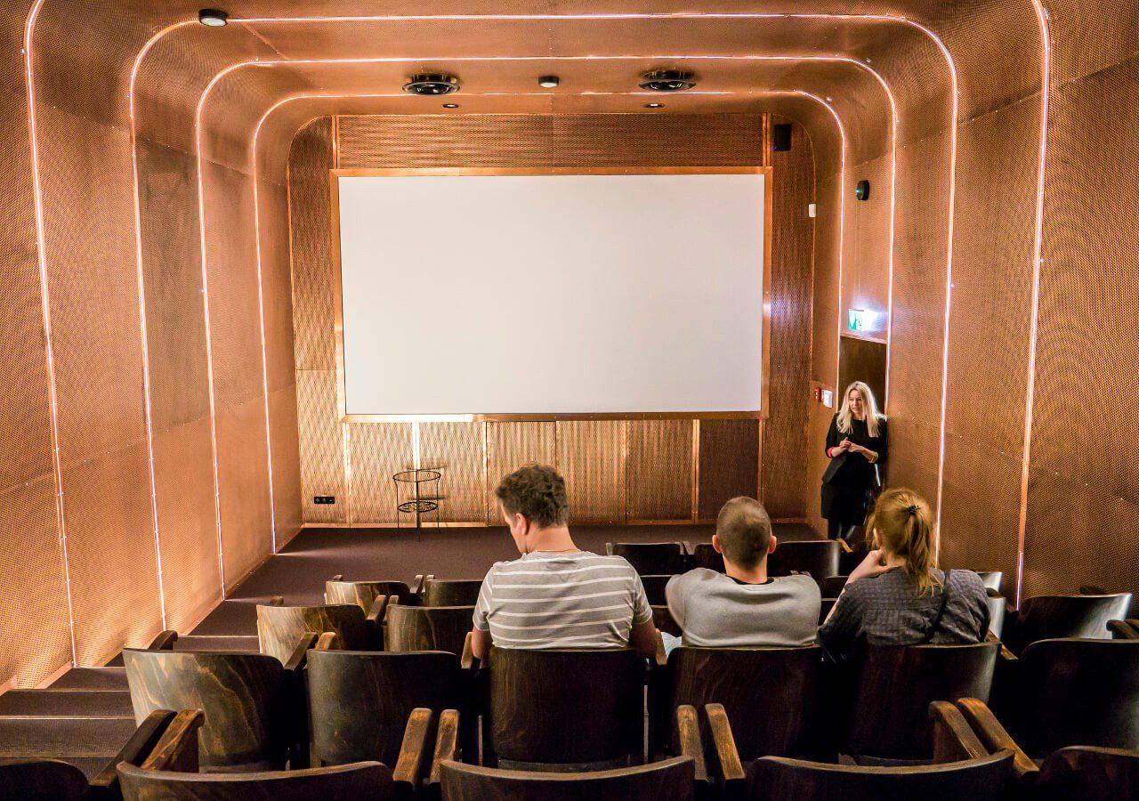 Sala kinowa muzeum