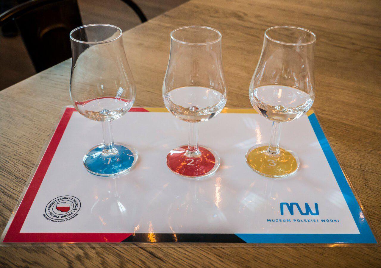 Degustacja polskiej wódki w Muzeum Polskiej Wódki