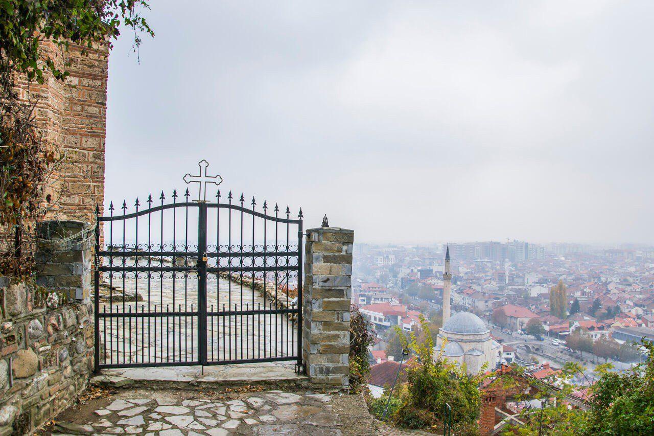 Brama do cerkwi Chrystusa Zbawiciela