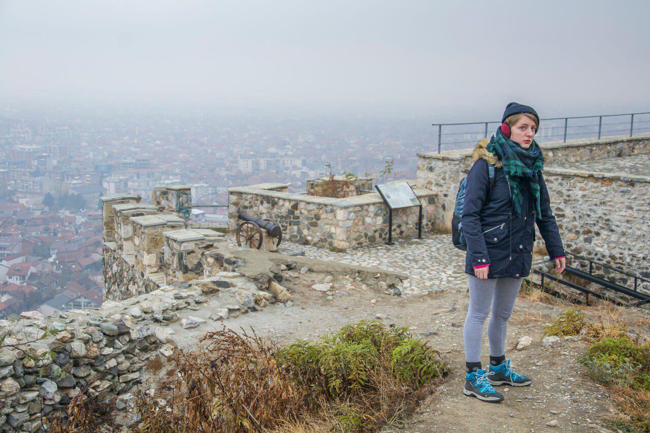 Szczyt z twierdzą Kalaja w Prizren