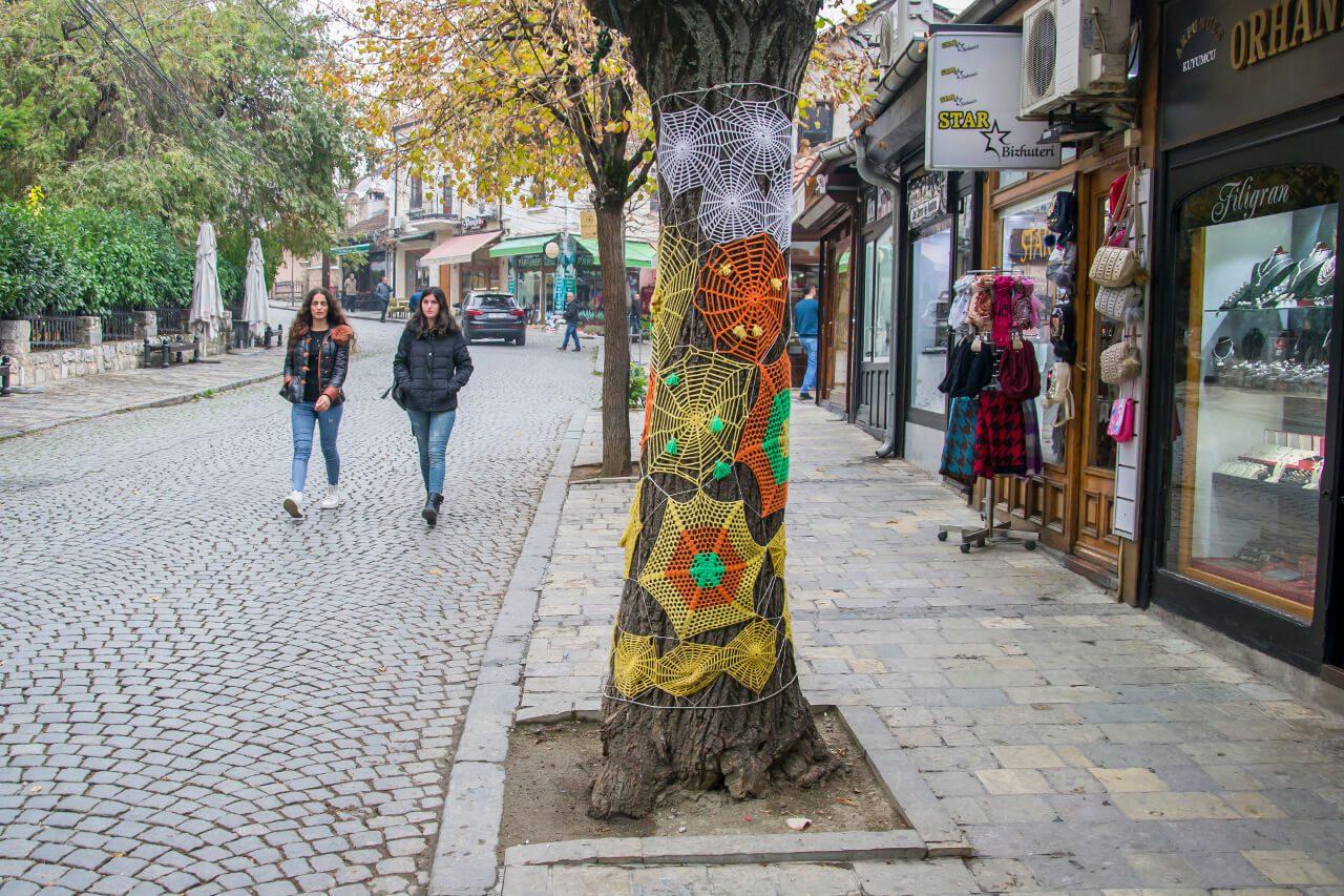 Ulice dzielnicy Shatërvan w Prizren