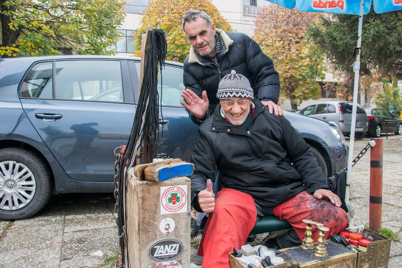 Pucybut Zanzi na ulicach Prizren