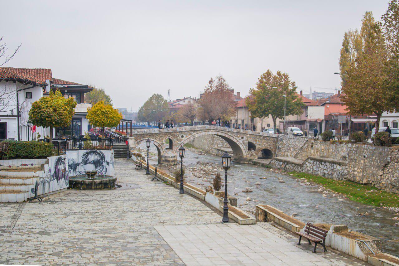 Stary Kamienny Most na rzeką Bistrica w Prizren