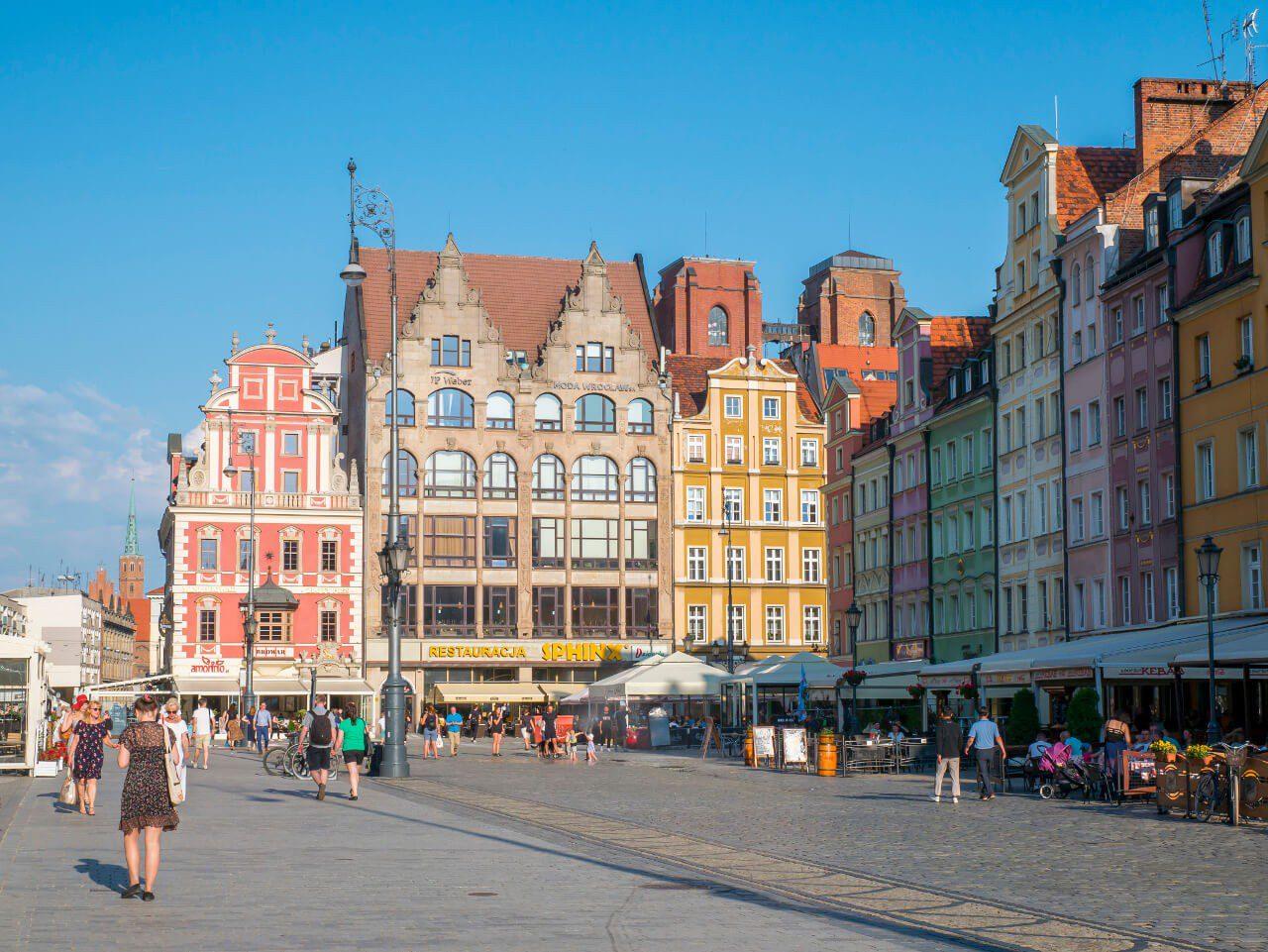 Kamienice Rynku we Wrocławiu