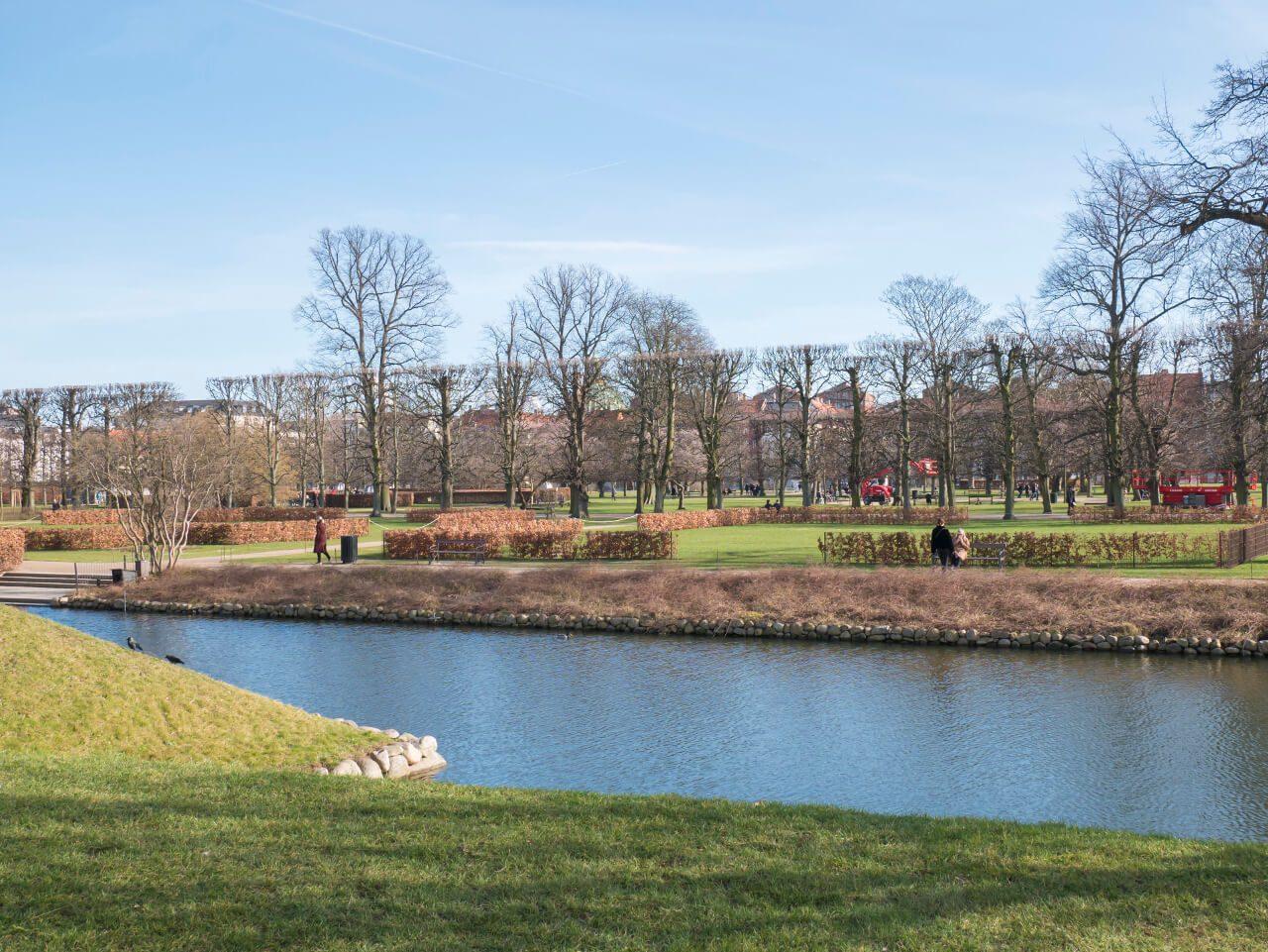 Park Króla przy pałacu Rosenborg
