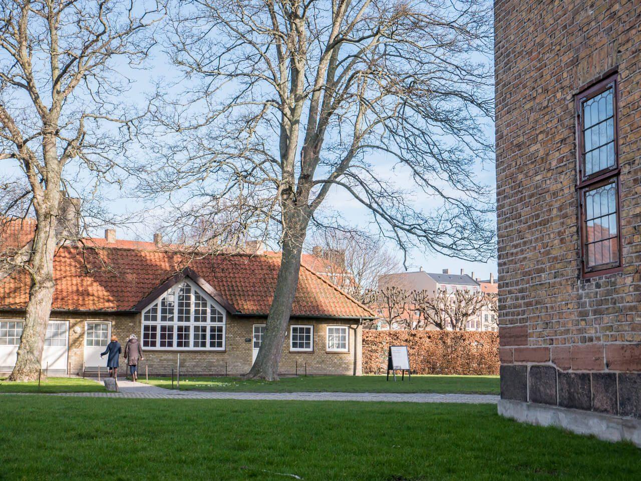 Zabudowania pałacu Rosenborg