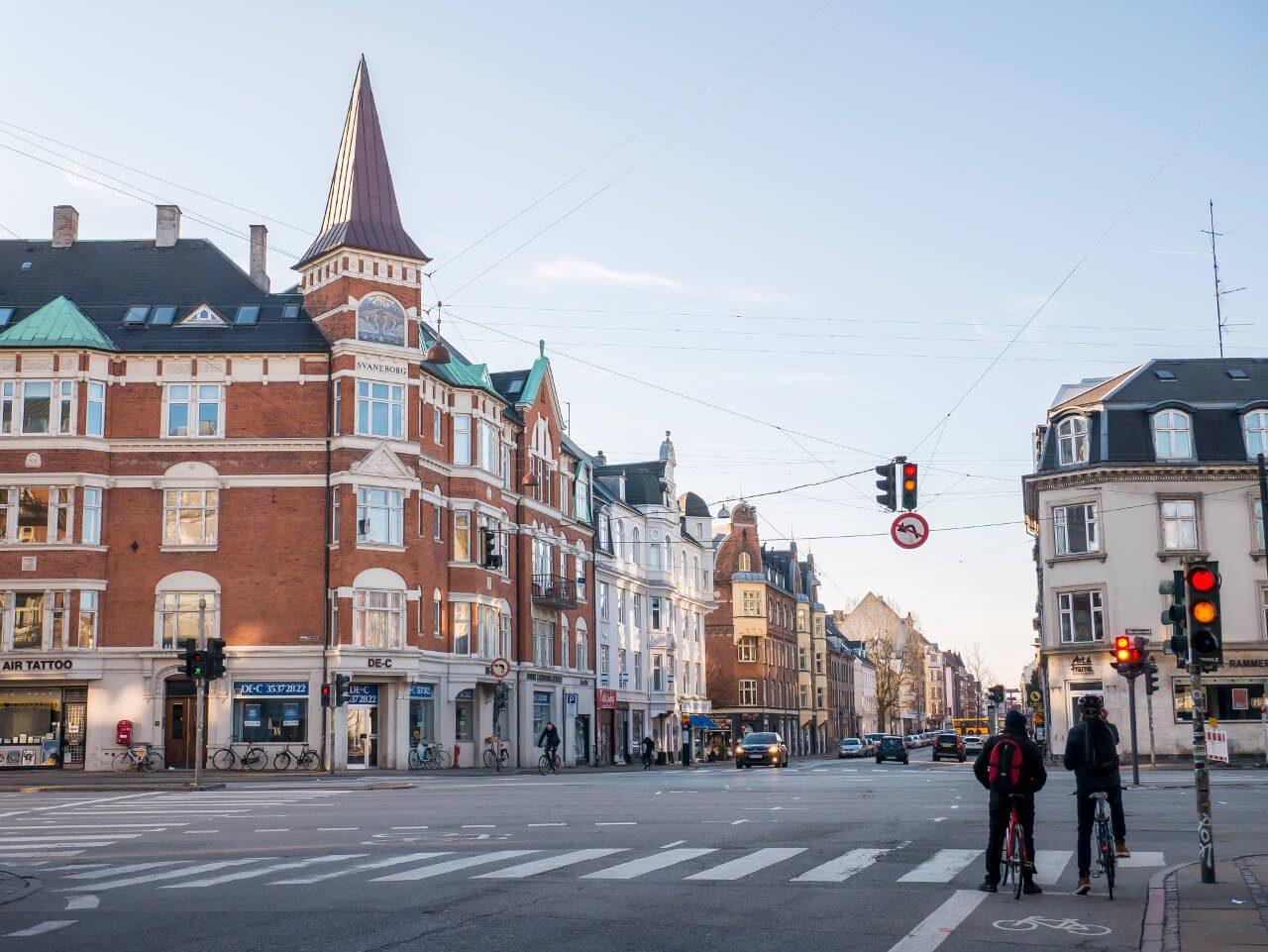 Ulica w Kopenhadze