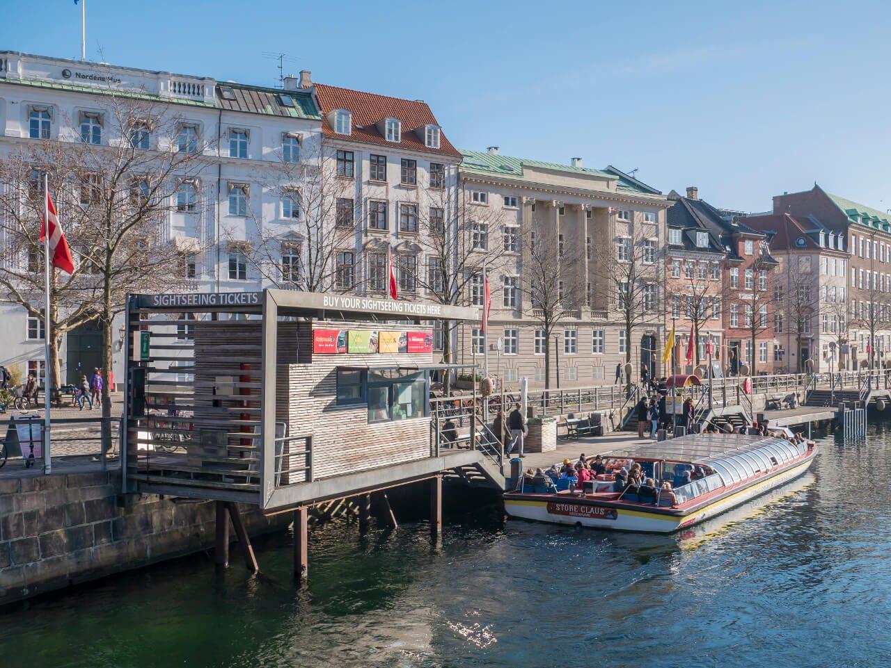 Przystań wycieczkowych statków w Kopenhadze