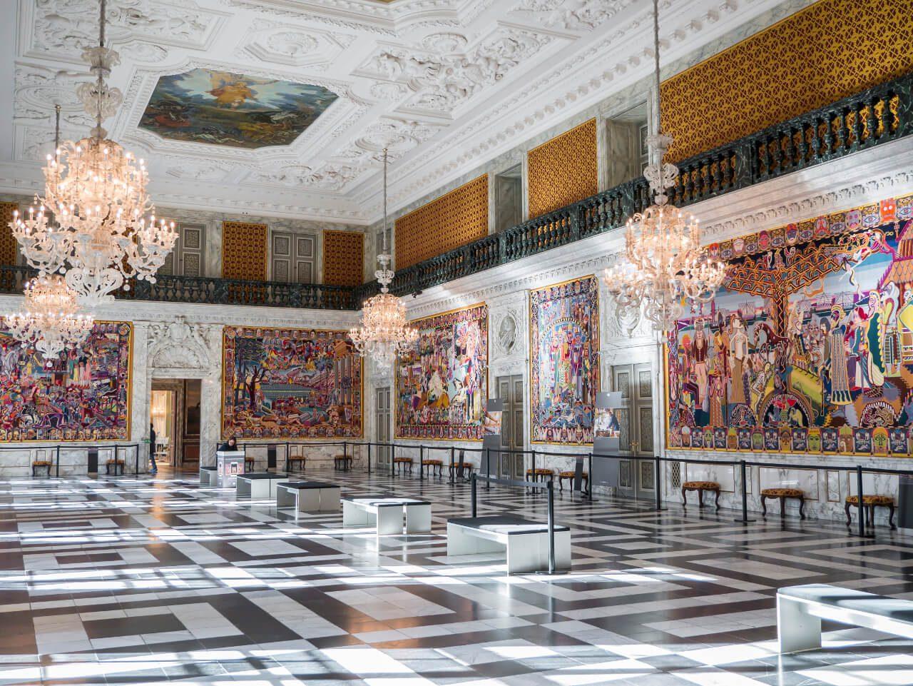 Wielka Sala pałacu Christiansborg