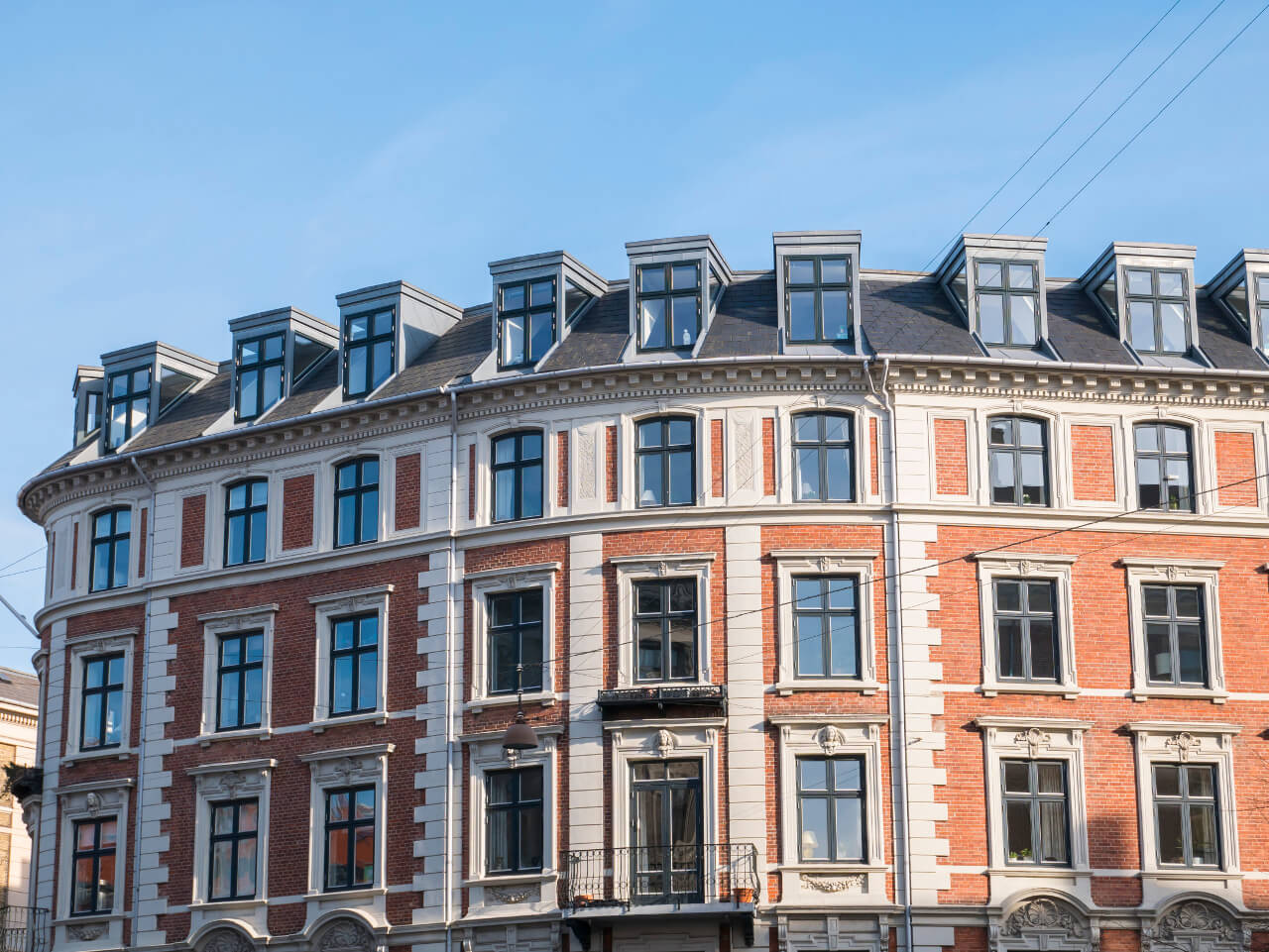 Budynek w Kopenhadze