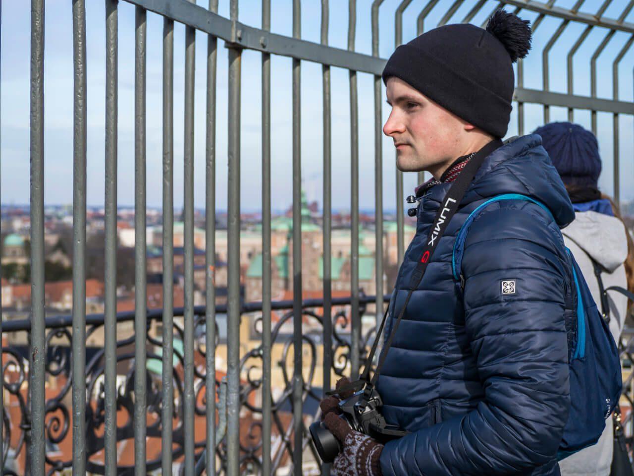 Bartek na wieży Rundetaarn