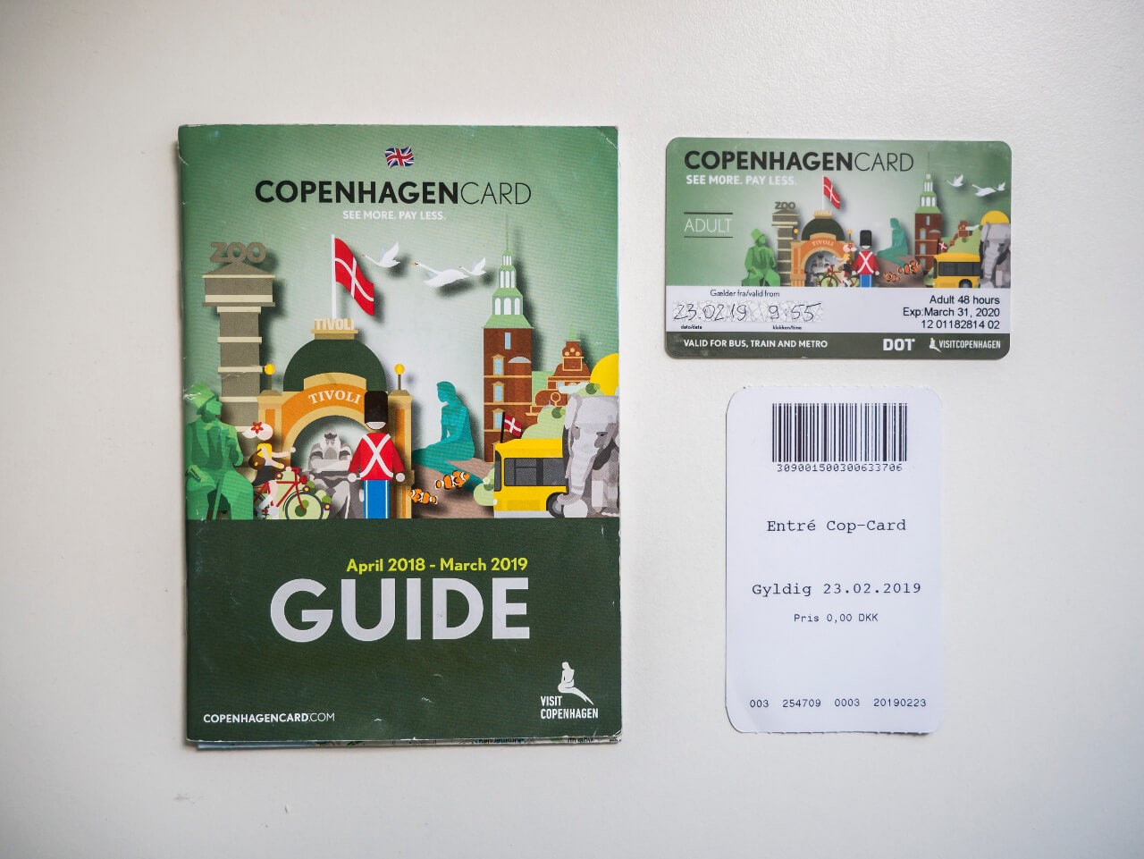Zwiedzanie Kopenhagi z kartą miejską Copenhagen Card