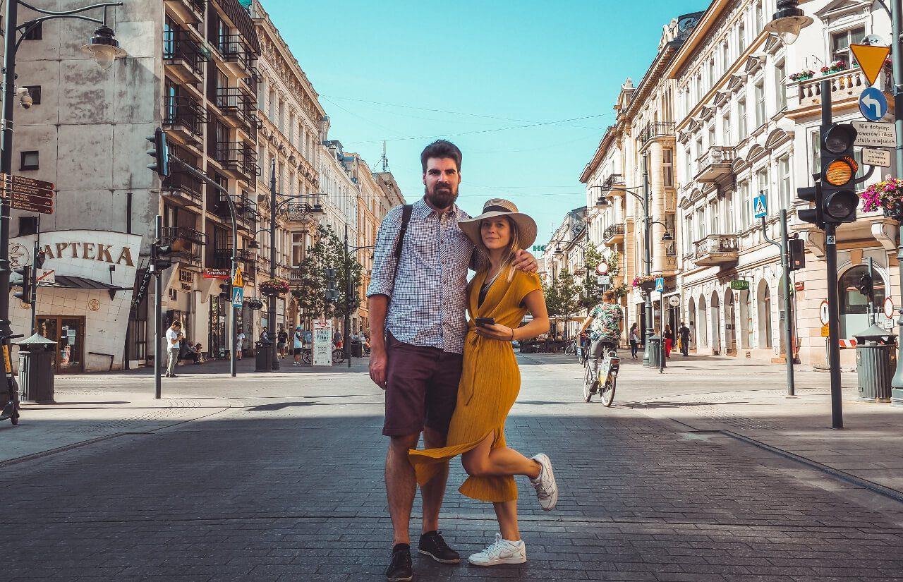 Ania i Artur z Czas na wywczas na ulicy