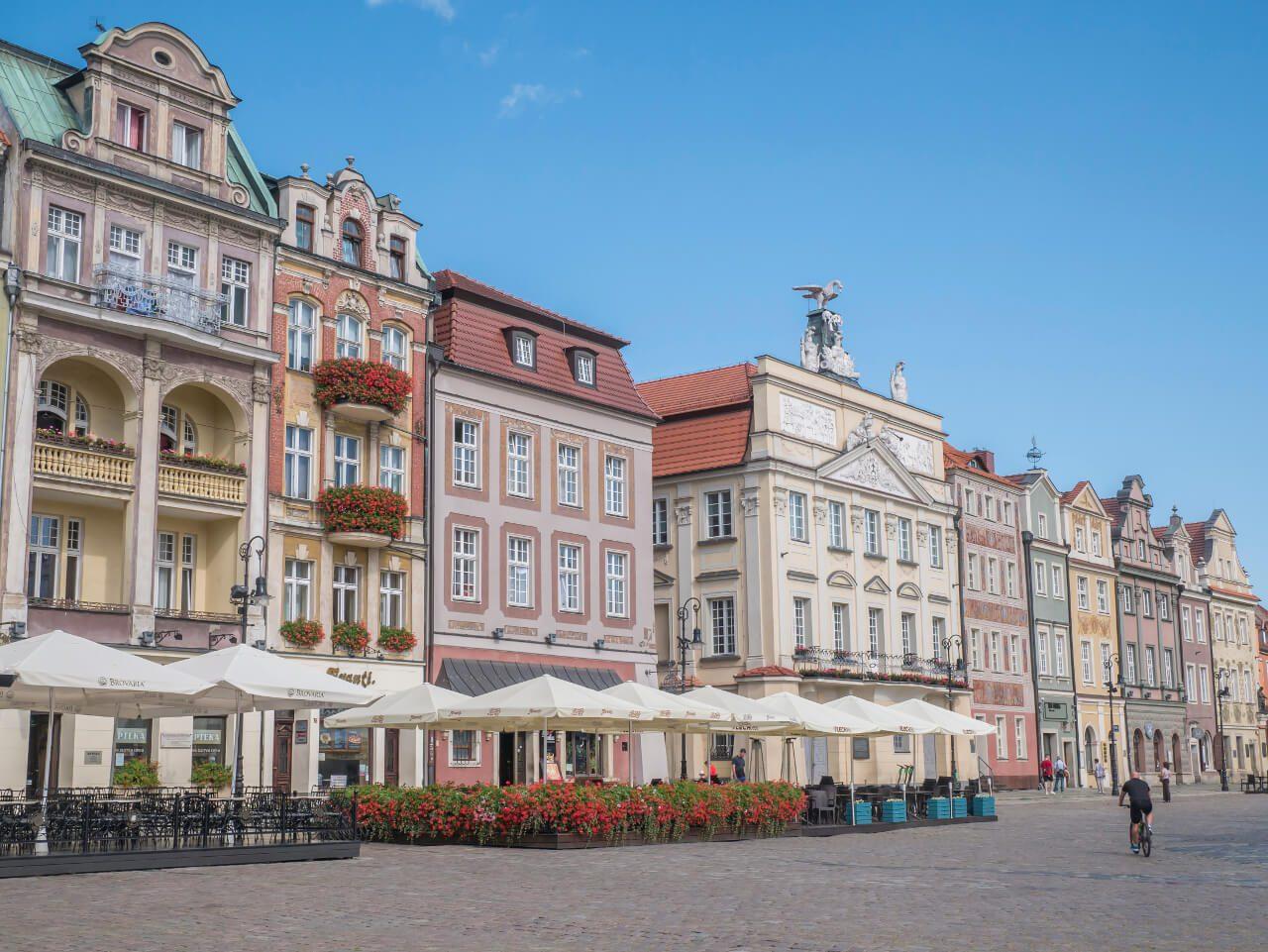 Kamienice na poznańskim Rynku