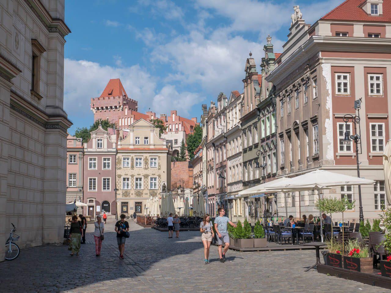 Pałac Mielżyńskich na Rynku w Poznaniu