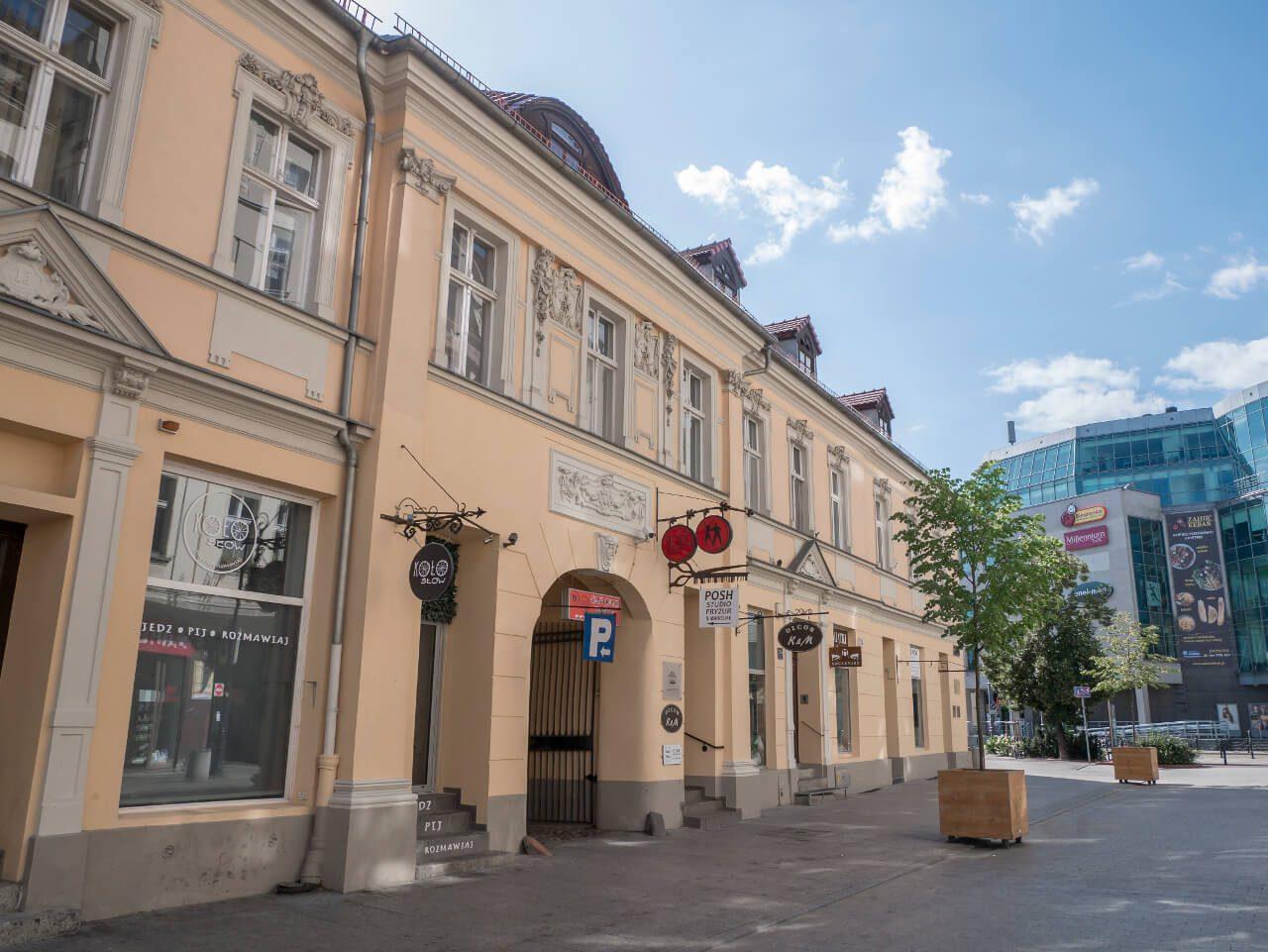 Dawny Hotel Saski w Poznaniu