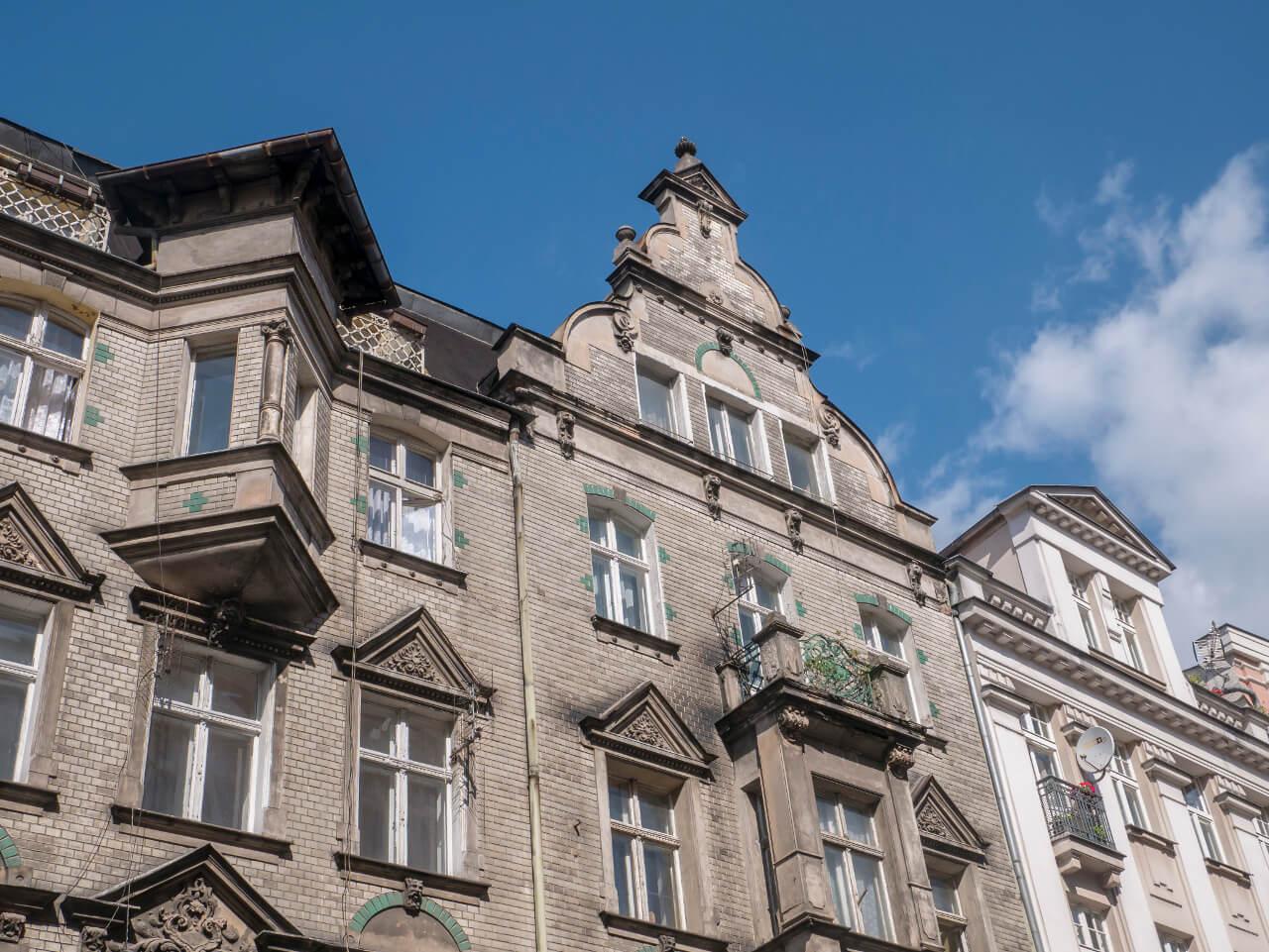 Czarna kamienica w Poznaniu