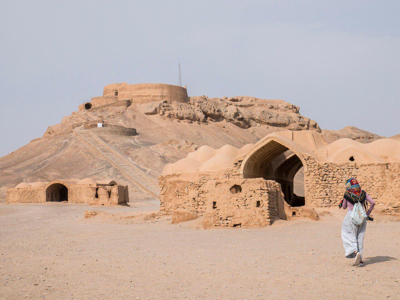Wieża Milczenia zoroastrian w Yazd