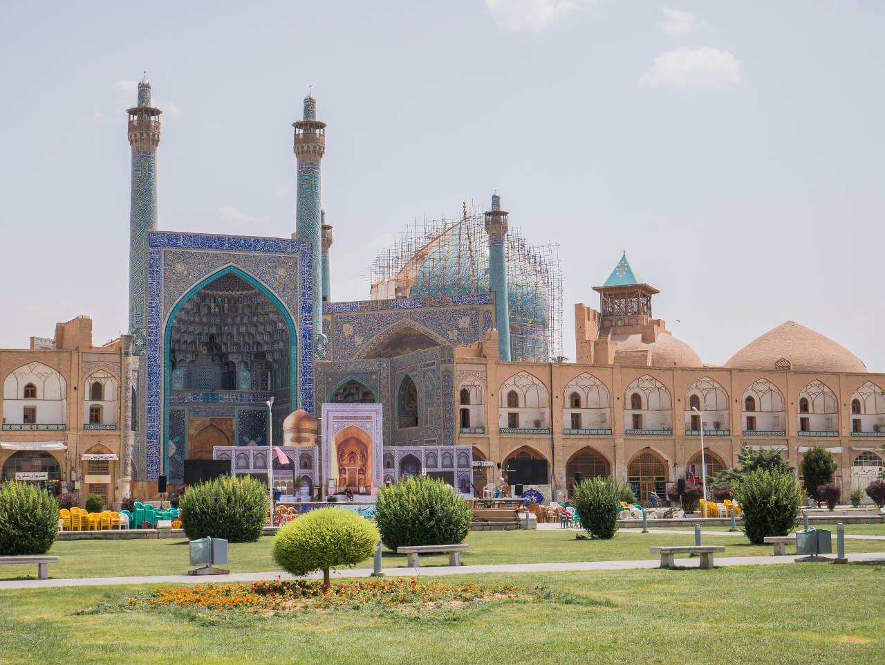 Meczet Królewski w Isfahan - zwiedzenie Iranu