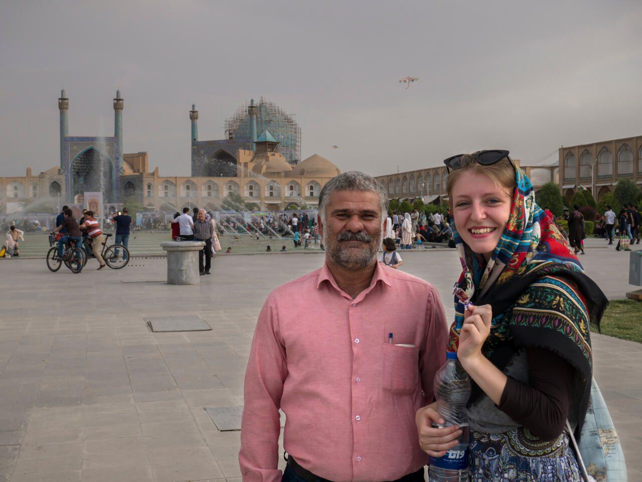 Natalia w Isfahan