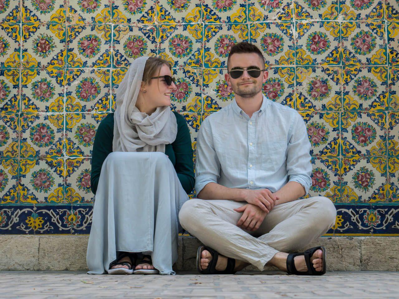 Bartek z Natalią - zwiedzanie Iranu