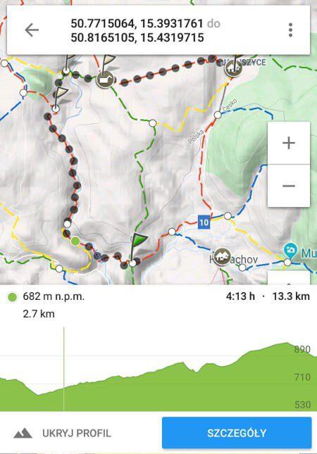 Aplikacje dla podróżników - screen z Mapa Turystyczna #3