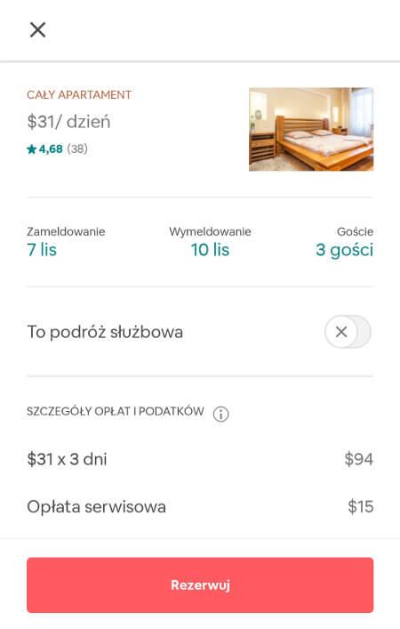 Screen z Airbnb #2