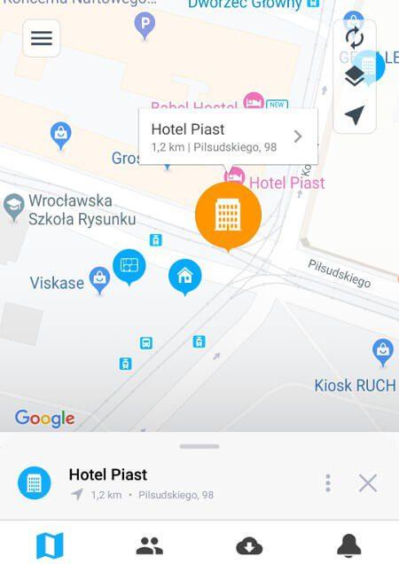 Aplikacje dla podróżników - screen z Wifi Map #1