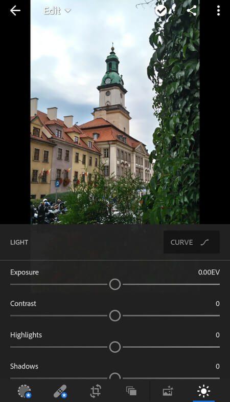 Aplikacje dla podróżników - screen z Lightroom #3