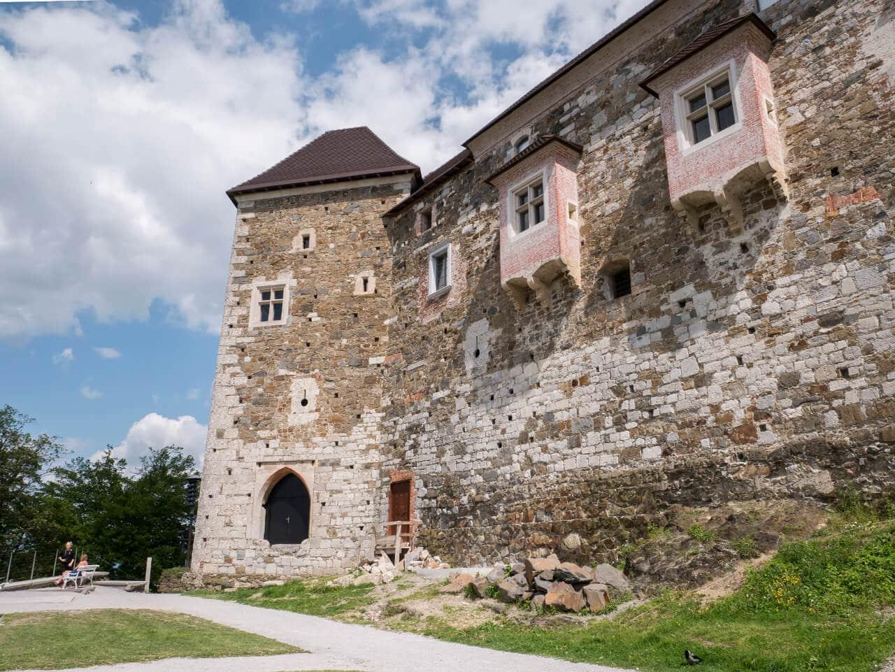 Zamek w Lublanie (Słowenia)