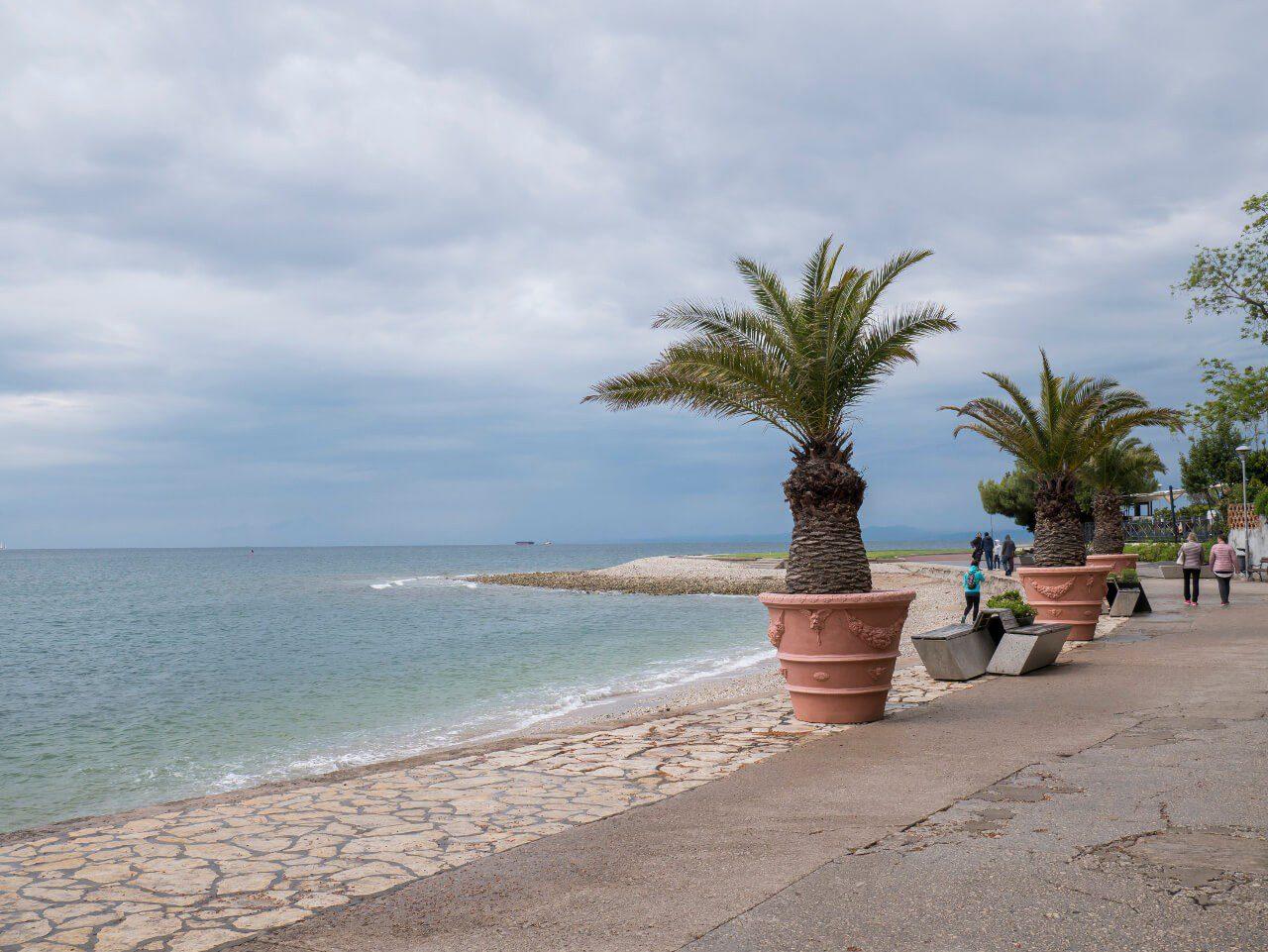 Promenada nadmorska w Izoli