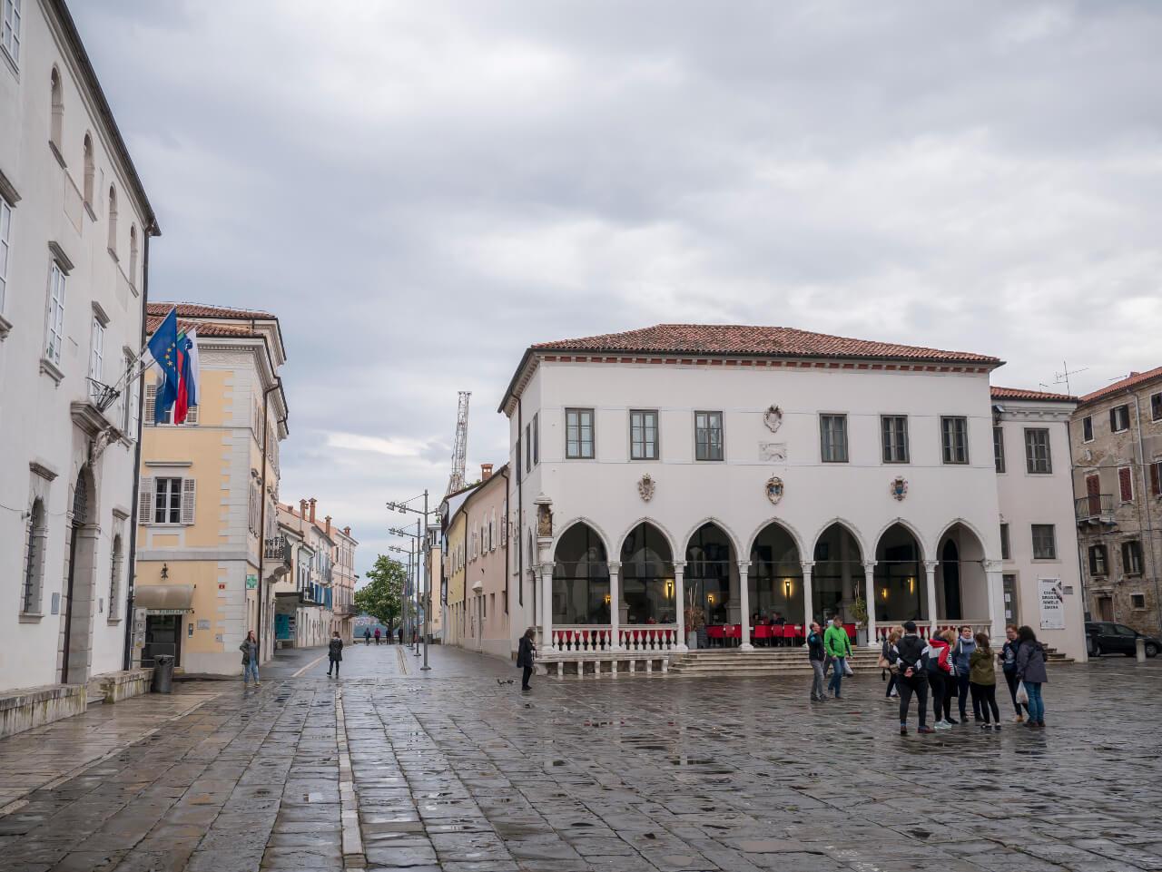 Plac Tita w Koprze (Słowenia)