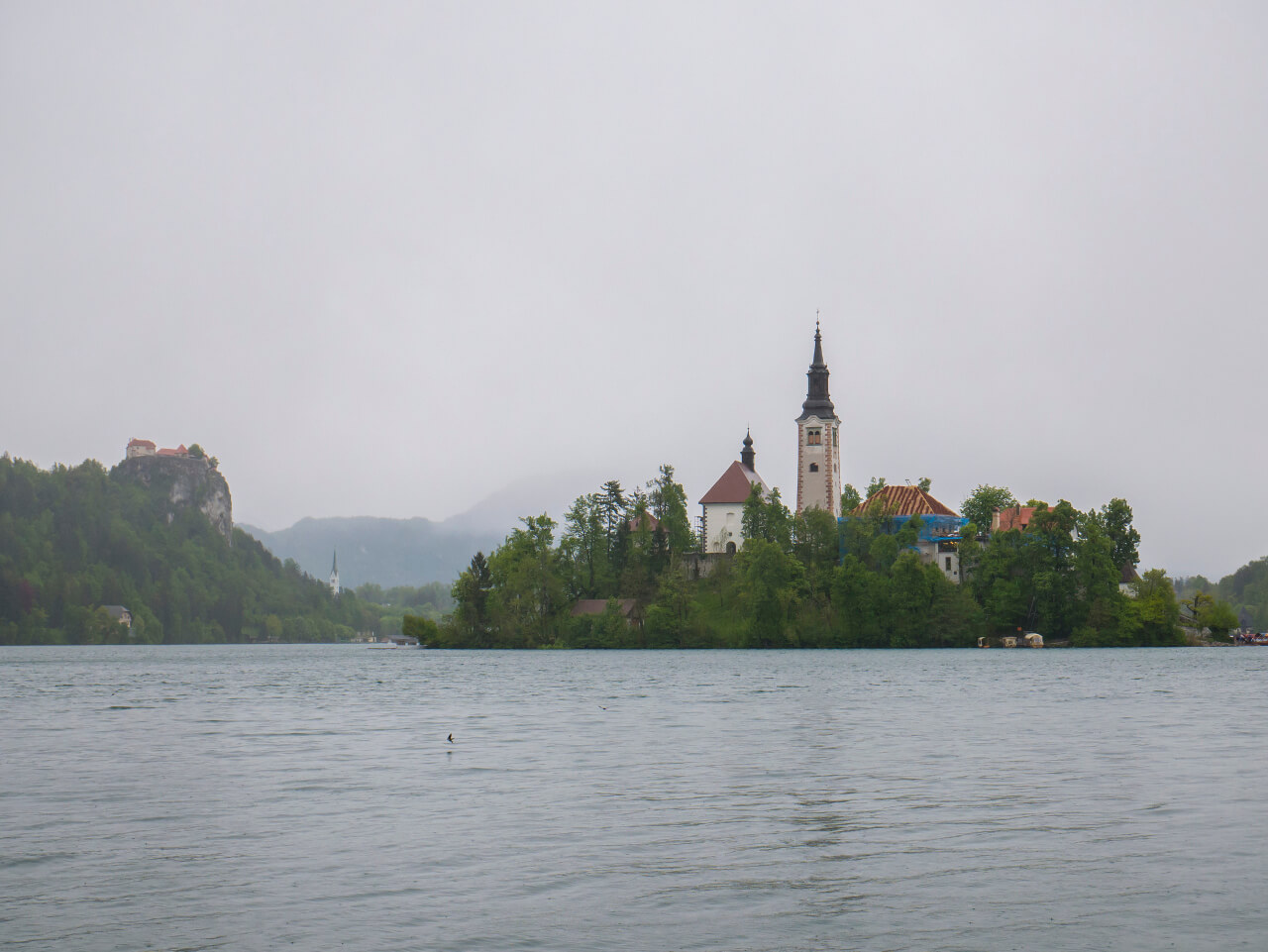 Zamek i wyspa nad Bledem